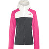 The North Face Stratos Jas Dames roze/blauw